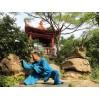 7 месяцев практики Mei Hua Poles и шаолинь Кунгфу | Академия Tianmeng - Шаньдун, Китай