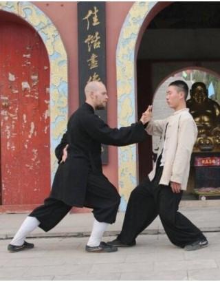 Год интенсивных тренировок по Кунг Фу | Горный шаолиньский монастырь Тайзу - Хэбэй, Китай